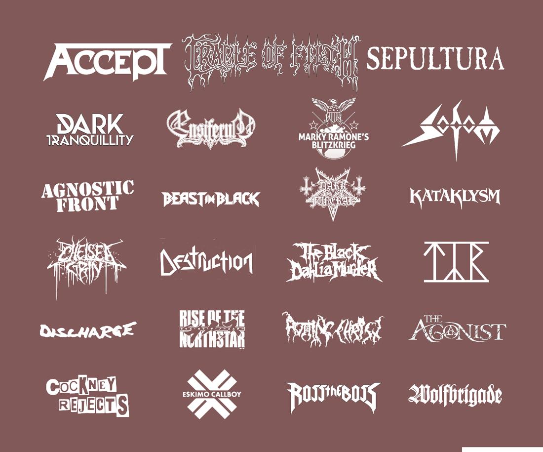 Rockmaraton XXX line-up